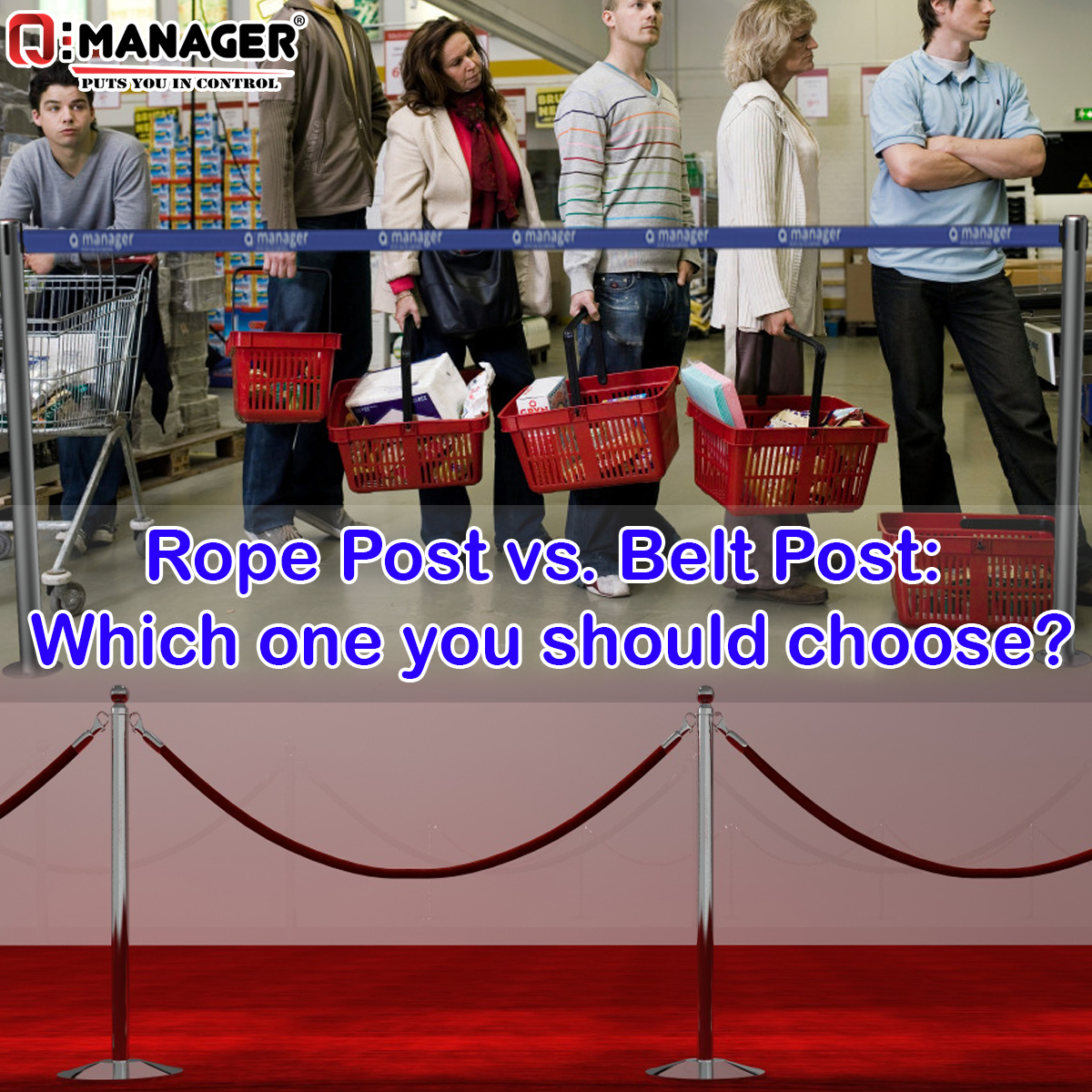 Rope Post vs. Belt Post: Which one you should choose?