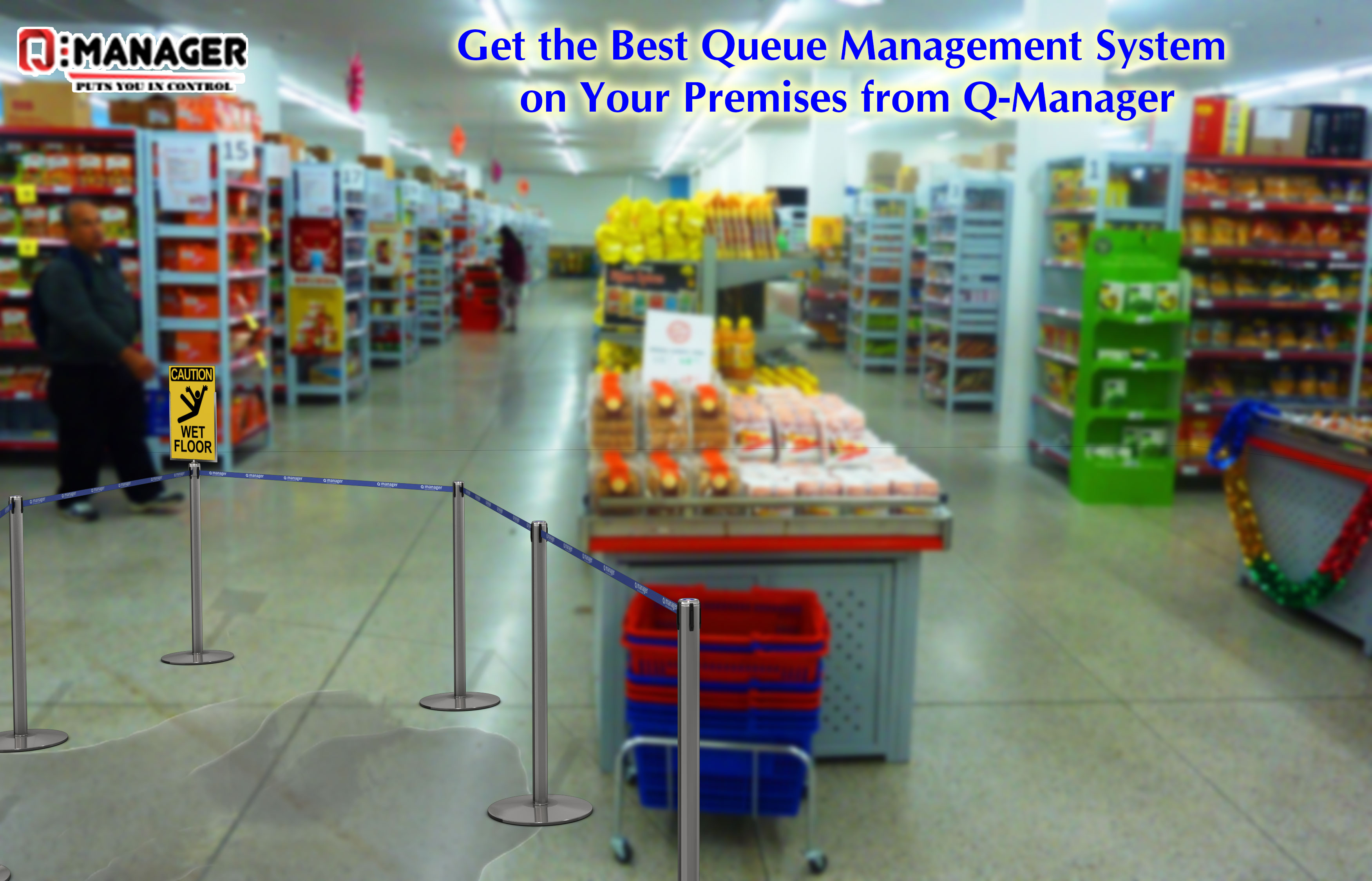 Get the Best Queue Management System on Your Premises from Q-Manager