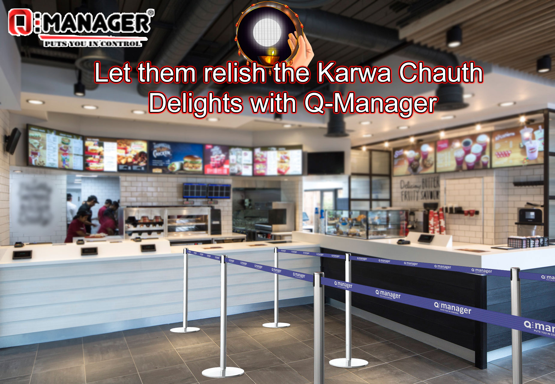 Let them relish the Karwa Chauth Delights with Q-Manager