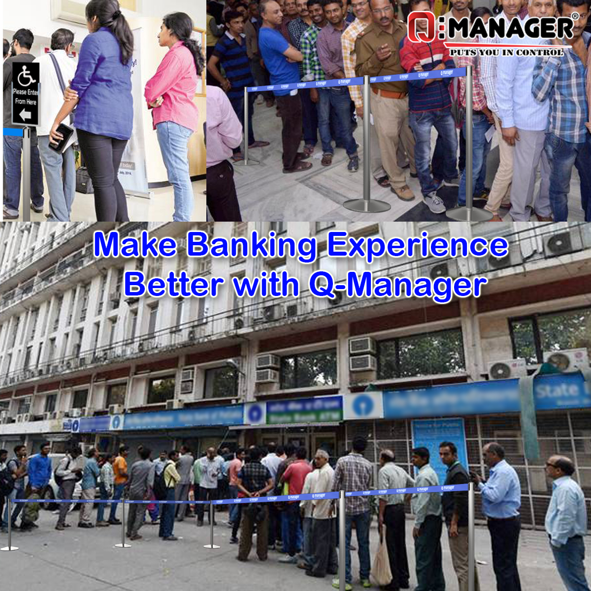 Make Banking Experience Better with Q-Manager.