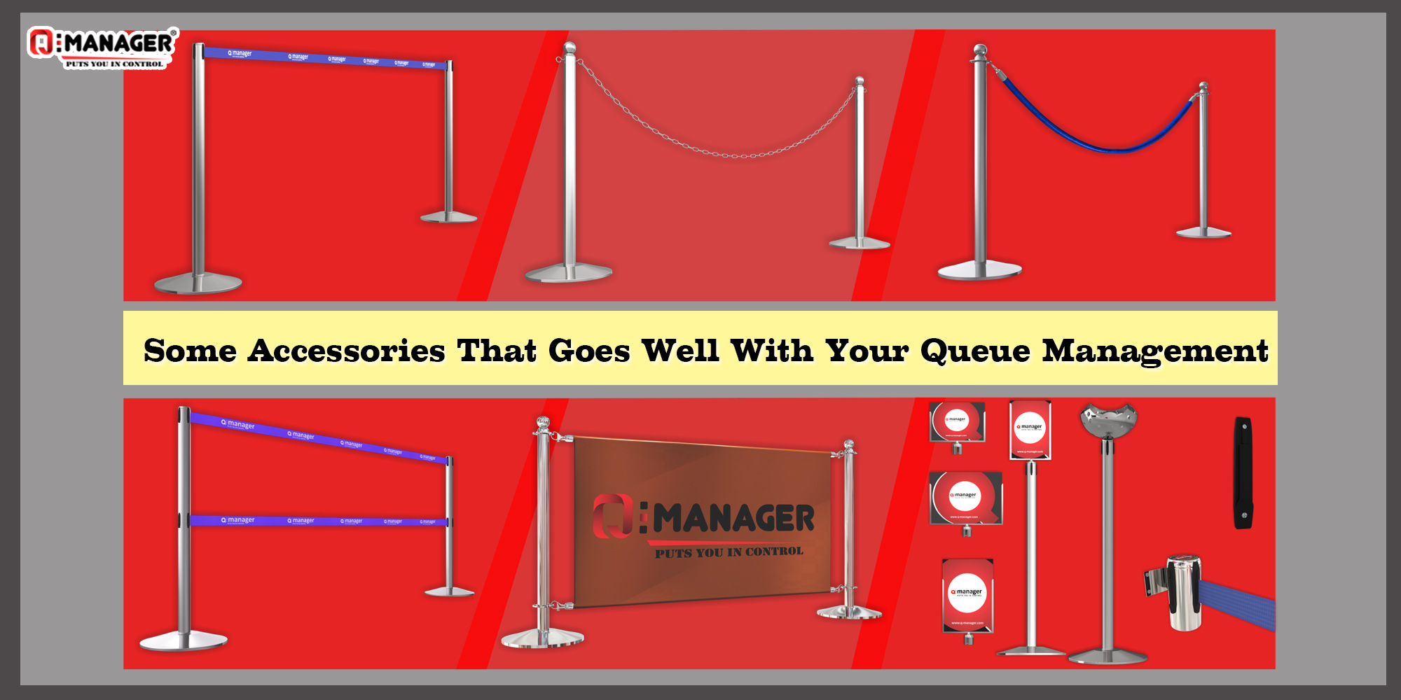 Some Accessories That Goes Well With Your Queue Management