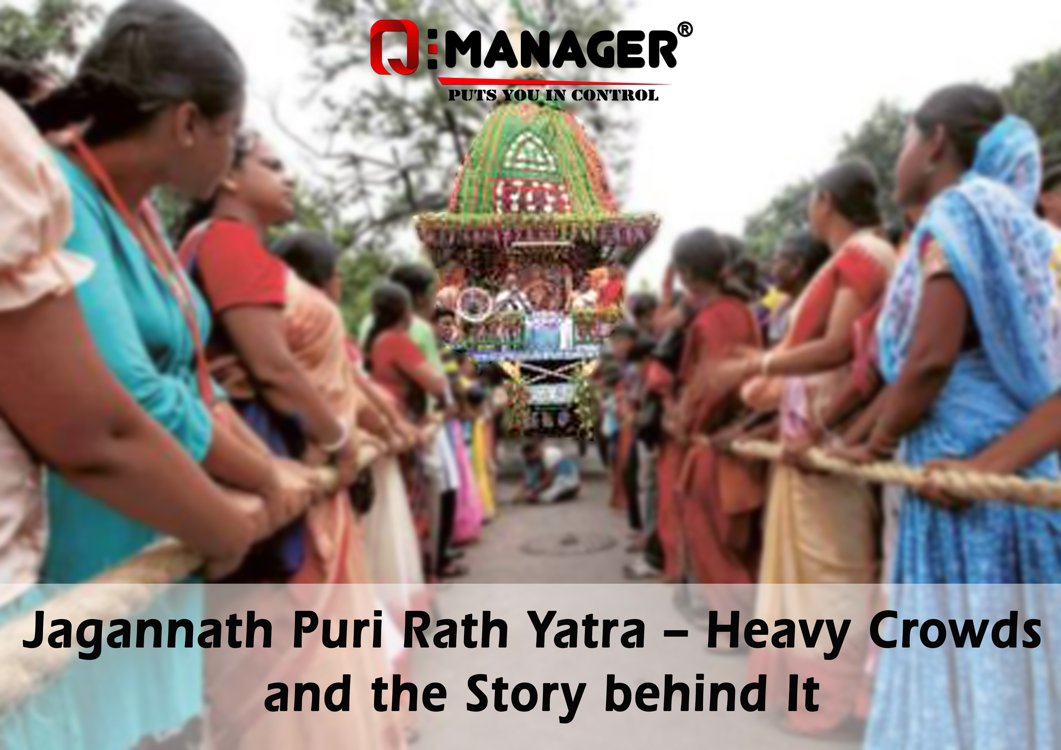 Jagannath Puri Rath Yatra - Heavy Crowds and the Story behind It