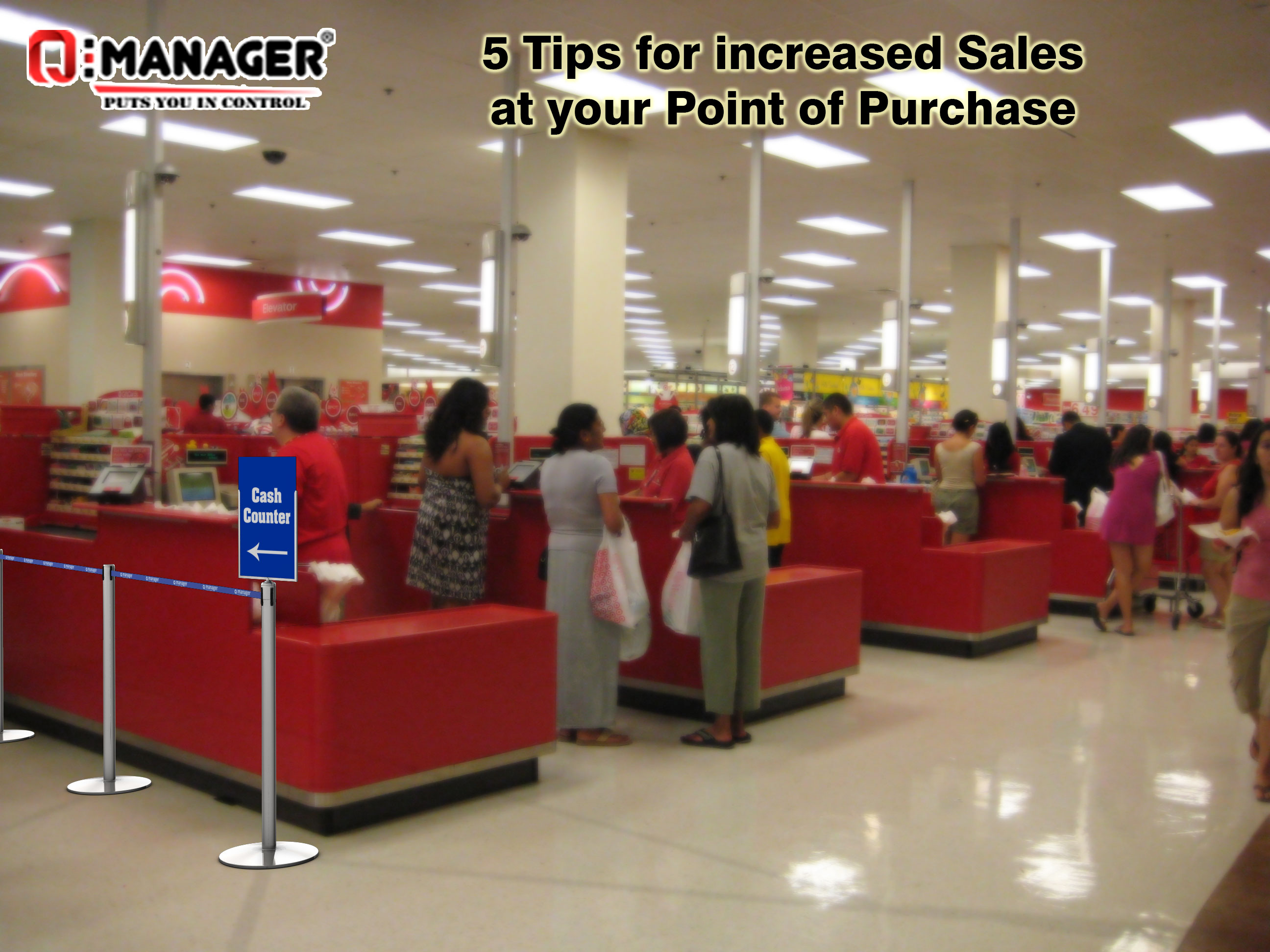 5 Tips for increased Sales at your Point of Purchase