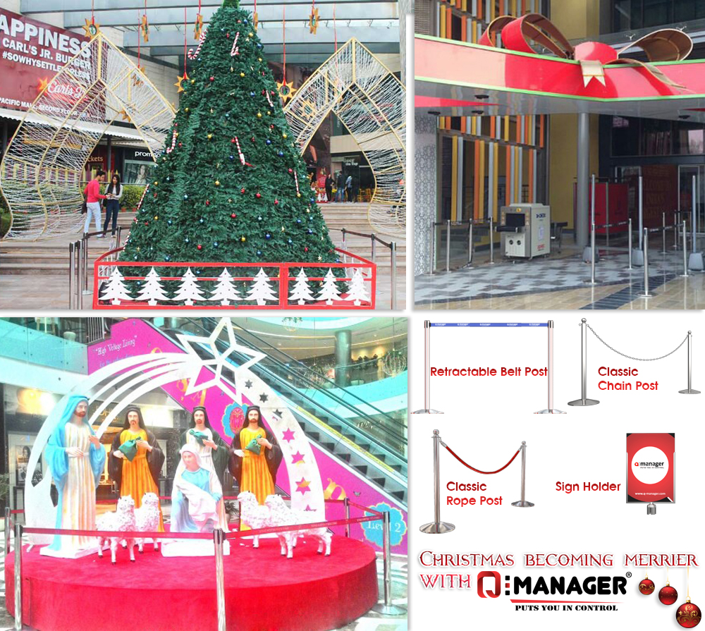 Christmas becoming merrier with Q-Manager