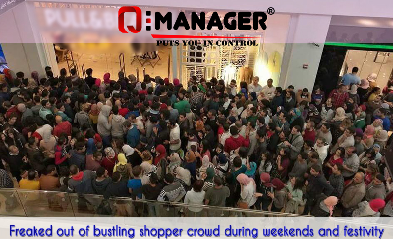 Freaked out of bustling shopper crowd during weekends and festivity?