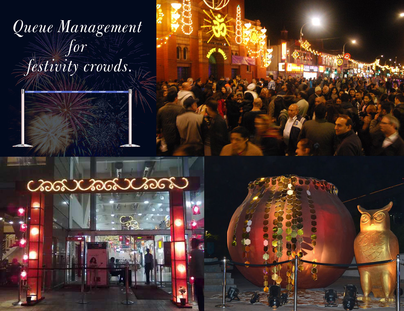 Need Queue management for Festivity Crowds?