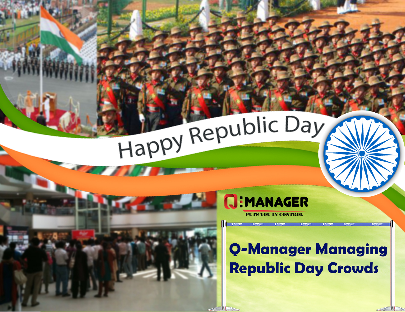 Q-Manager Managing Republic Day Crowds