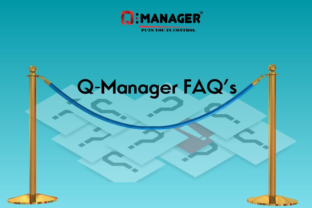 Q-Manager FAQ's