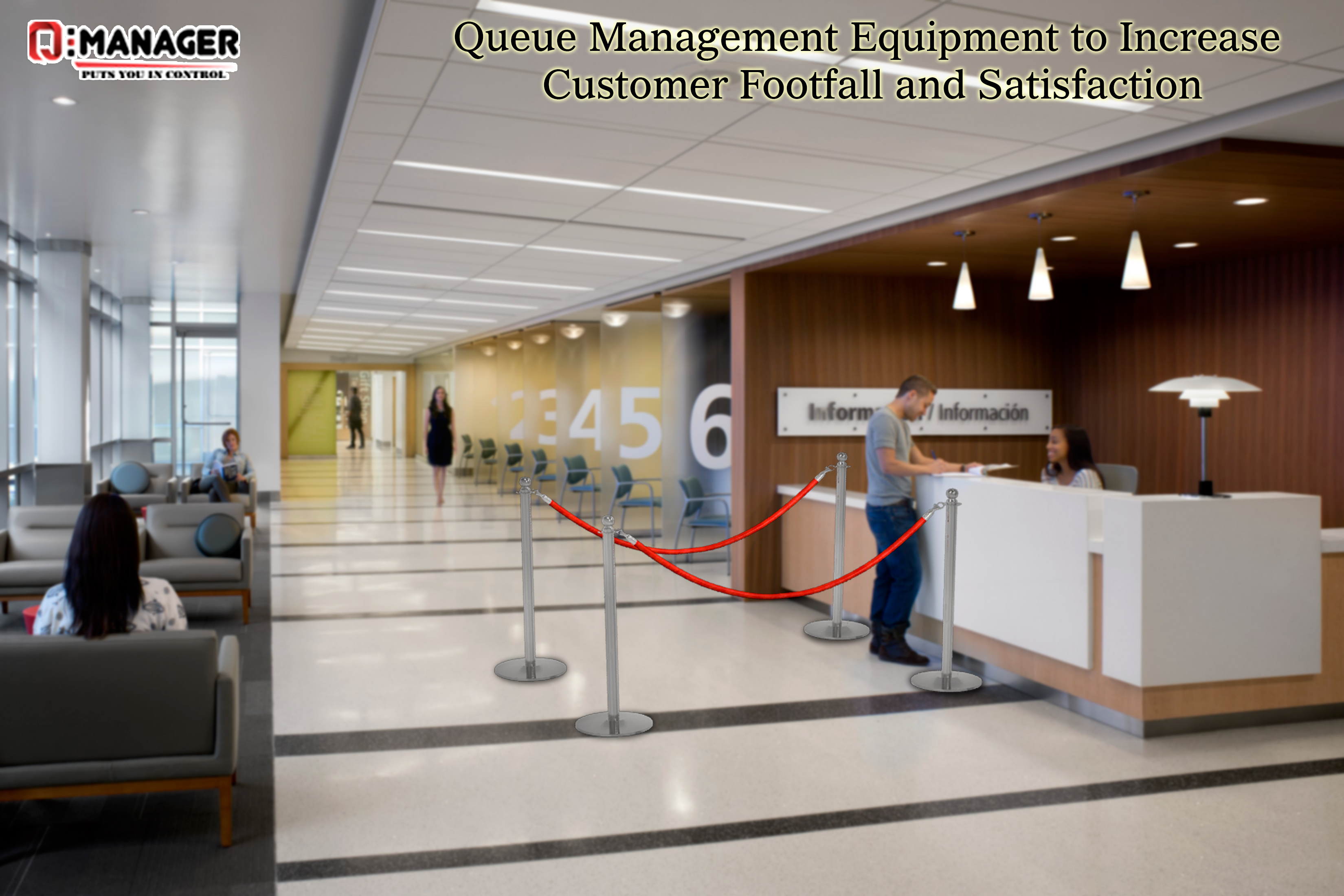 Queue Management Equipment to Increase Customer Footfall and Satisfaction