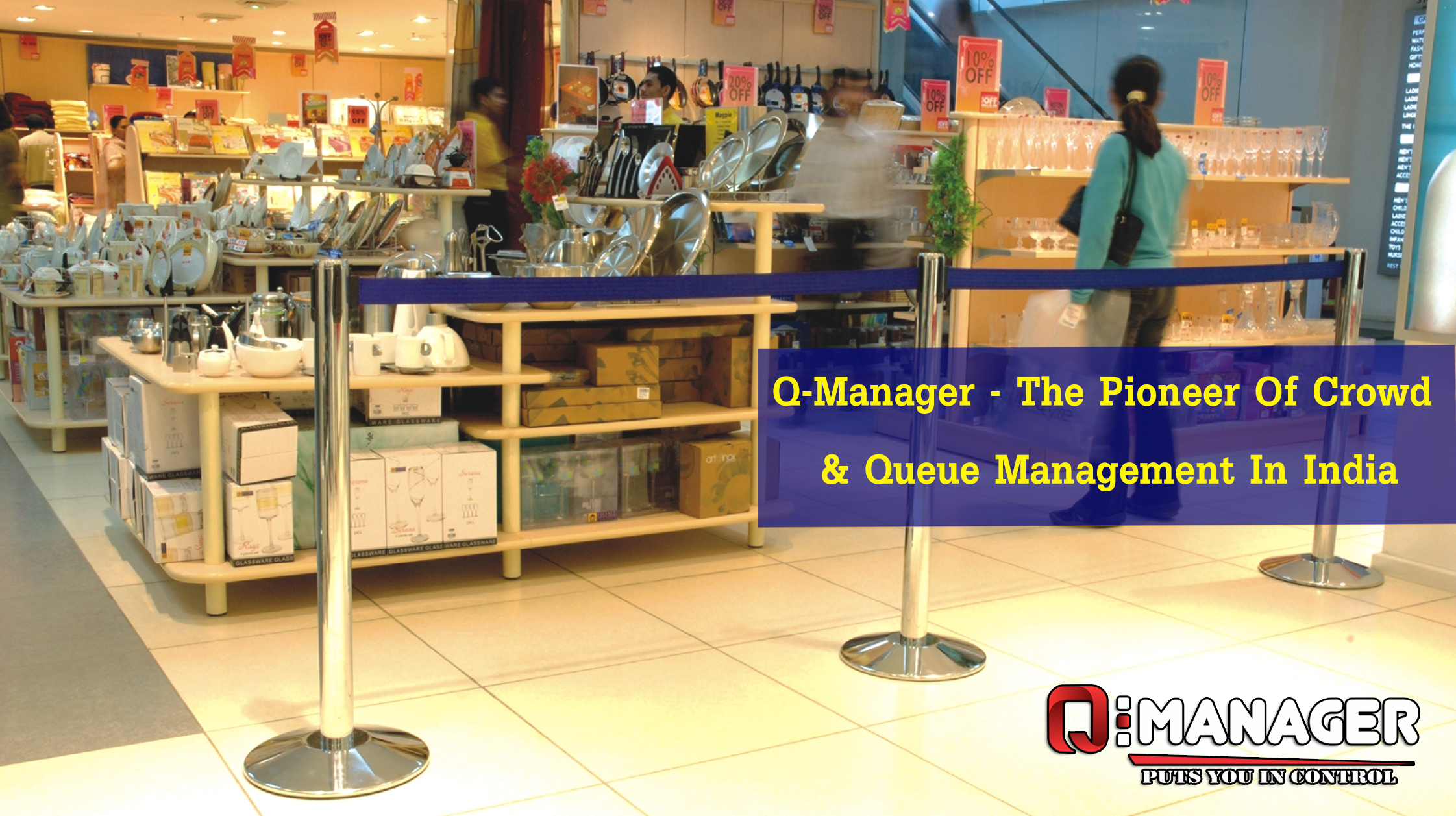 Q-Manager - The Pioneer Of Crowd & Queue Management In India
