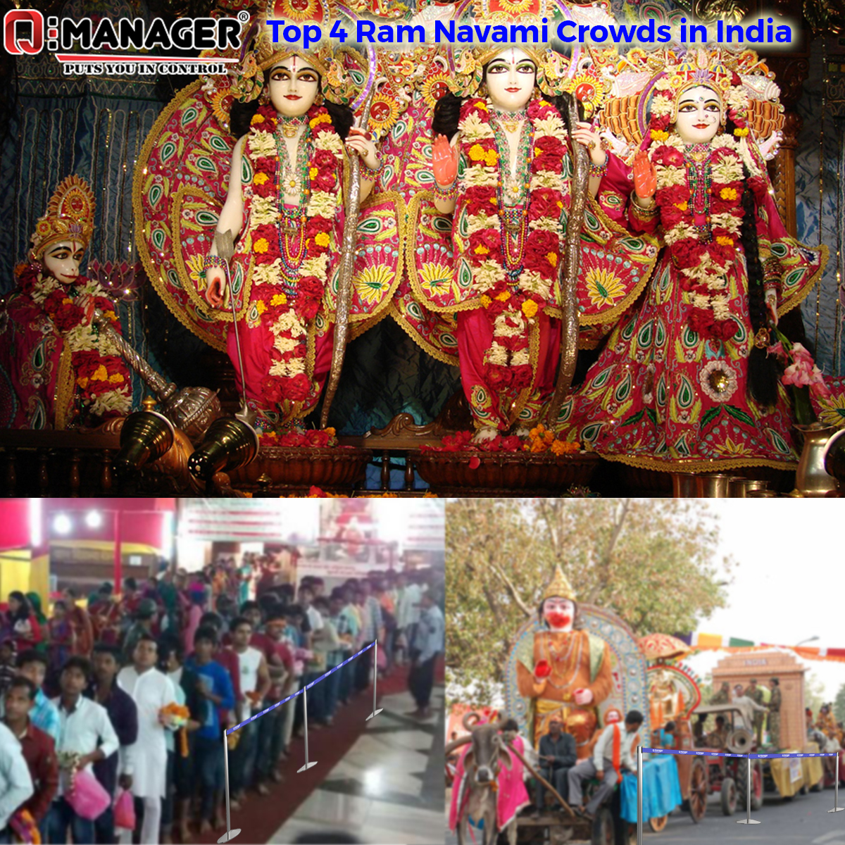 Top 4 Ram Navami Crowds in India