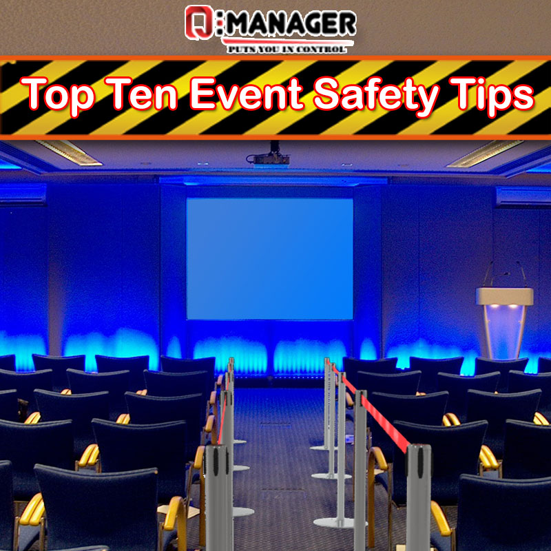 Top Ten Event Safety Tips