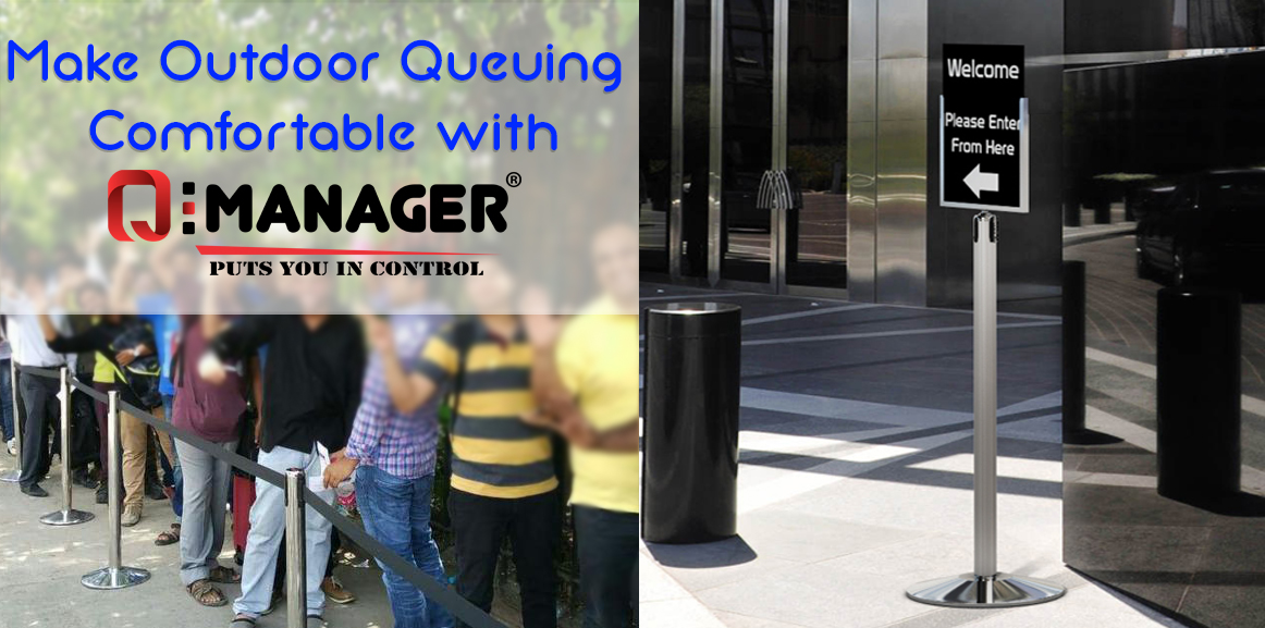 Make Outdoor Queueing Comfortable with Q-Manager
